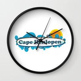 Cape Henlopen - Delaware. Wall Clock