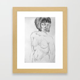 Honesty Framed Art Print
