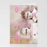 creepy Stationery Cards featuring creepy by Outgoing Hikikomori