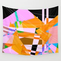architect Wall Tapestries featuring My Architect took acid by Hipsterdirtbag