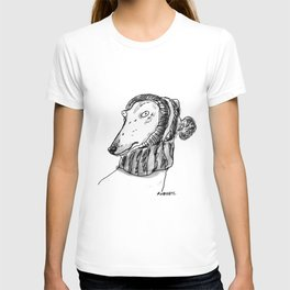 winter greyhound T-shirt