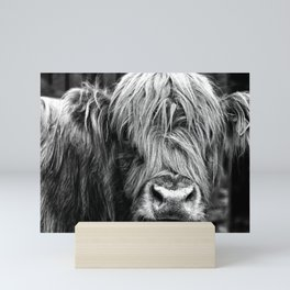 Highland Cow Mini Art Print