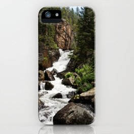 Mountain Torrent iPhone Case