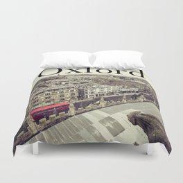 Oxford gargoyle Duvet Cover