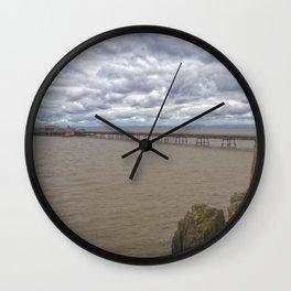 Birnbeck Pier. Wall Clock