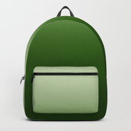Tropical Green Gradient Backpack