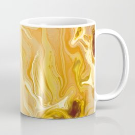Golden Marble Texture Coffee Mug