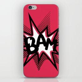 BAM! iPhone Skin
