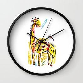 Giraffe 1 Wall Clock