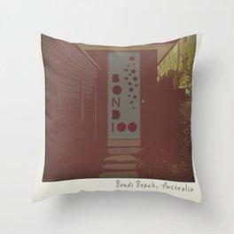Bondi Beach House Throw Pillow