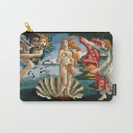 Pixel Birth of Venus Carry-All Pouch