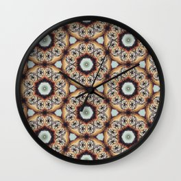 Nasty Cat Kaleidoscope 2 Wall Clock
