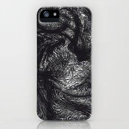 furry swirl iPhone Case