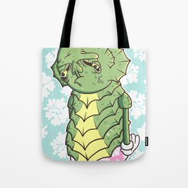 The Sadness Of The Creature Tote Bag
