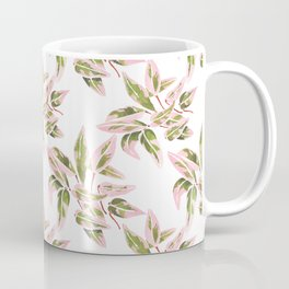 Triostar Stromanthe Watercolour Pink Leaves  Coffee Mug