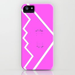 B-2 Pink iPhone Case