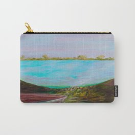 A Boat and a Seamless Sky Carry-All Pouch