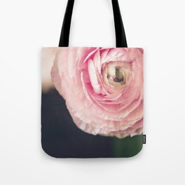 Ranunculus in pink Tote Bag