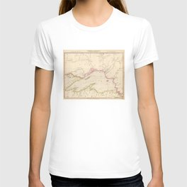 Vintage Map of Lake Superior (1832) T-shirt