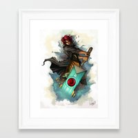 transistor Framed Art Prints featuring Transistor by BeanyCoffee
