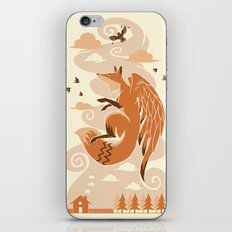 The Flying Fox's First Flight iPhone Skin
