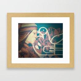 wild mountain Framed Art Print