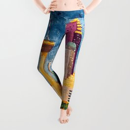San Antonio Celebration Leggings