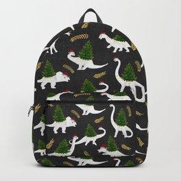Santa's New Hire - Black Backpack
