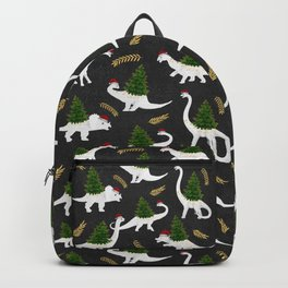 Santa's New Hire - Black Backpack