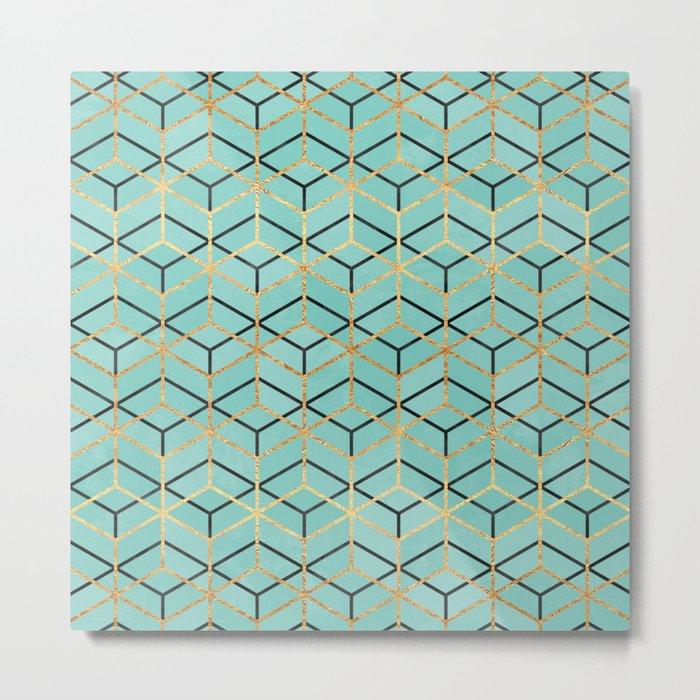 Pretty Geometry 2 Metal Print