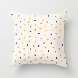 Little wildflowers Throw Pillow