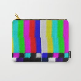 TV Screen Color Bars Carry-All Pouch
