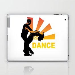 dancing couple silhouette - brazilian zouk Laptop & iPad Skin