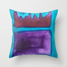 Color Abstract 1 Throw Pillow
