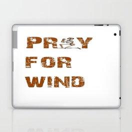 Kitesurfers Pray for Wind Laptop & iPad Skin