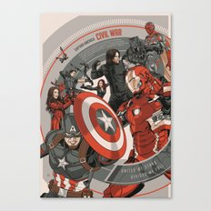 CIVIL WAR - MOVIE POSTER Canvas Print