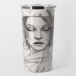 Surreal Geometry Travel Mug