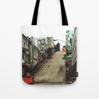 broadway Tote Bags featuring Broadway by Laney Vela