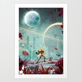 Metroid Kunstdrucke