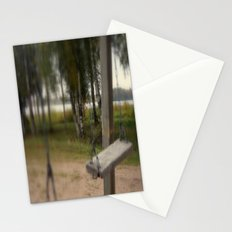 Lonely Swing Stationery Cards