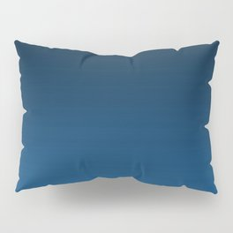 Shades of PANTONE Classic Blue Color Of The Year 2020 Pillow Sham
