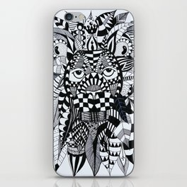 Feather Lion iPhone Skin