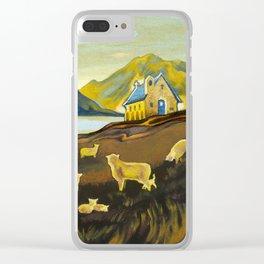 The Good Shepherd, Lake Tekapo Clear iPhone Case
