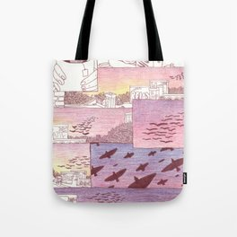 over head Tote Bag