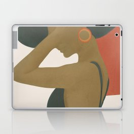 Lady in a Black Dress Laptop & iPad Skin