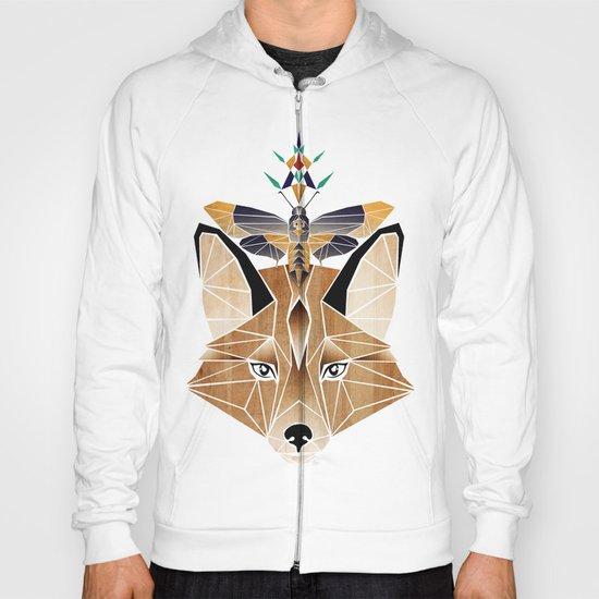 fox butterfly Hoody