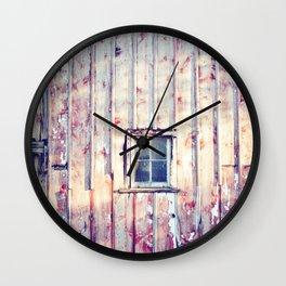 Morning Chores Wall Clock