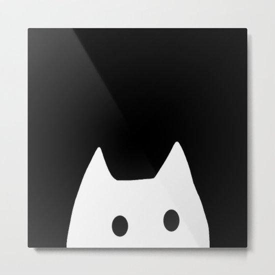 cat-4 Metal Print