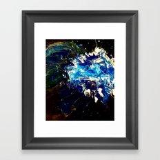 DEFACED Framed Art Print