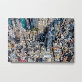 City Of New York Metal Print